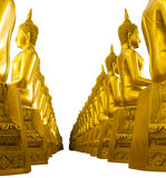Buddha studded side Stock Photo