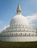 Buddha stupa from the back side Royalty Free Stock Photography