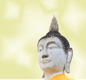 Buddha on stupa background Royalty Free Stock Images