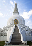 Buddha stupa entrance Royalty Free Stock Image