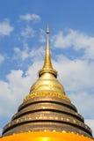 Buddha stupa im lampang Thailand Stockbild