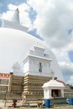 Buddha and stupa Royalty Free Stock Photos