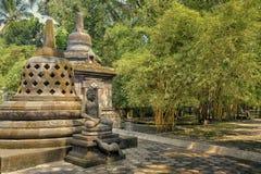 Buddha and stupas Stock Images