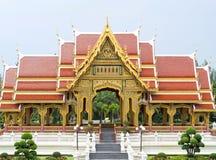 Buddha style pavilion Stock Images