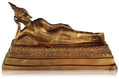Buddha su un background2 bianco Immagini Stock Libere da Diritti