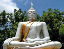 Buddha subduing Mara Royalty Free Stock Image