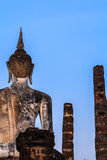 Buddha sukhothai Royalty Free Stock Photo