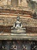 Buddha in Sukhothai Lizenzfreie Stockfotografie