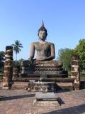 Buddha Sukhothai/Tailandia Immagini Stock Libere da Diritti