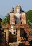 Buddha in Sukhothai, Thailand Stock Image