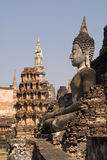 Buddha at Sukhothai, Thailand Stock Photo