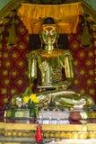 Buddha at Sule Pagoda , Yangon in Myanmar (Burmar) Royalty Free Stock Photos