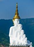 Buddha sulla montagna Immagine Stock