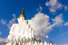 Buddha sulla montagna, Phasornkaew, provincia di Phetchabun, Tailandia Fotografie Stock