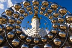Buddha sulla montagna, Phasornkaew, provincia di Phetchabun, Tailandia Immagini Stock