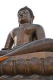 Buddha sulla parte posteriore di bianco, Bangkok Tailandia Immagine Stock Libera da Diritti