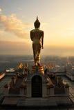 Buddha sunrise Stock Images