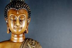 Buddha svart 5 Arkivbilder