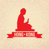 Buddha - the symbol of Hong Kong Stock Photography