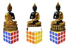 Buddha symbol of peace stock images
