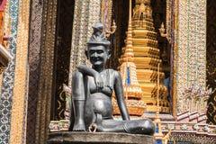 buddha szmaragdowy kaew phra świątyni wat obraz royalty free