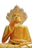 Buddha tailandés de oro Fotografía de archivo
