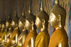 Buddha tailandese fotografia stock