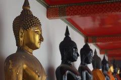 Buddha tailandese Immagini Stock Libere da Diritti