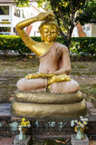 Buddha teaching different Nadis or energy channels meridians. This is a Buddha statue at a park near Wat Chet Yod in Chiang Mai, Thailand. Mudras can be Royalty Free Stock Photography