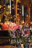 buddha tempel arkivfoton