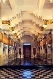 Buddha tempel inomhus, Kandy, Sri Lanka royaltyfria foton