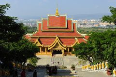 Buddha tempel, Kina Arkivfoton