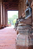 Buddha-Tempel in Thailand Stockbild