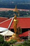 buddha tempel thailand Royaltyfri Foto