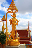 buddha tempel thailand Royaltyfri Bild