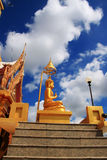 buddha tempel thailand Royaltyfria Foton