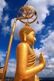 buddha tempel thailand Arkivfoto