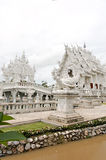 buddha tempelthailand unik white Royaltyfri Foto