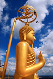Buddha in tempiale della Tailandia Fotografia Stock