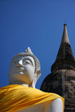 Buddha and Temple Royalty Free Stock Image