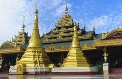 Buddha temple. The Buddha temple in burma Royalty Free Stock Photography