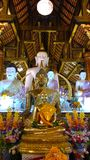 A buddha at temple in chiangmai  Thailand Royalty Free Stock Image