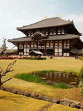 Buddha Temple in Nara Stock Image