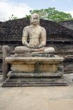 Buddha temple. Polonnaruwa Royalty Free Stock Photo