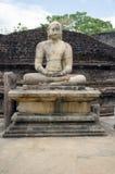 Buddha temple. Polonnaruwa Royalty Free Stock Photo