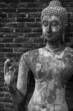 Buddha in temple of Sukhothai ancient city. Stock Photography