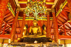 Buddha temple in Thailand. Lanna art form in Lampang province have been selected by UNESCO, northern Thailand, Southeast Asia Stock Images