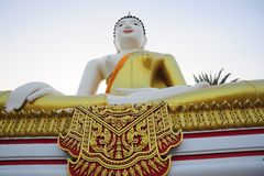Buddha. In temple in Thailand Royalty Free Stock Photos