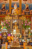Buddha in a temple of Thailand Stock Images