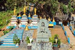 Buddha in temple Stock Photo